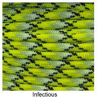 550 Paracord Type III - Infectious - Mad City Outdoor Gear