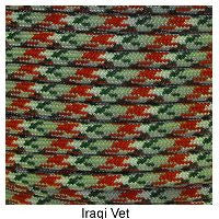 550 Paracord Type III - Iraq Vet - Mad City Outdoor Gear