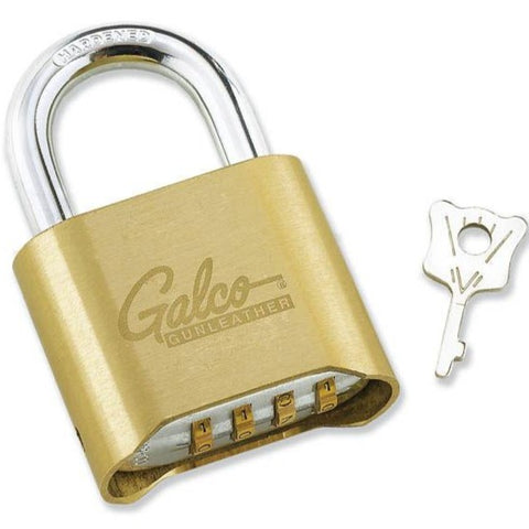 Galco Resettable Combination Padlock