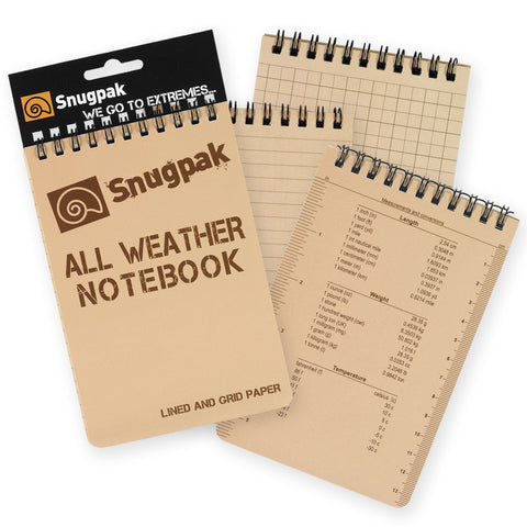 Snugpak - All Weather Notebook - Large - Mad City Outdoor Gear