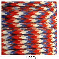 550 Paracord Type III - Liberty - Mad City Outdoor Gear
