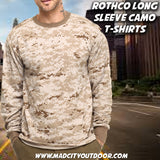 Rothco Long Sleeve Camouflage T-Shirts