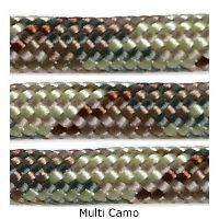 550 Paracord Type III - Multi Camo - Mad City Outdoor Gear