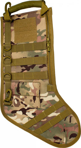 Tactical Multicam MOLLE Christmas Stockings