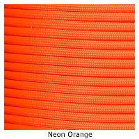 550 Paracord Type III - Neon Orange - Mad City Outdoor Gear