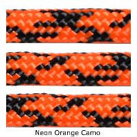 550 Paracord Type III - Neon Orange Camo - Mad City Outdoor Gear