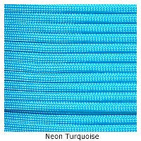 550 Paracord Type III - Neon Turquoise - Mad City Outdoor Gear