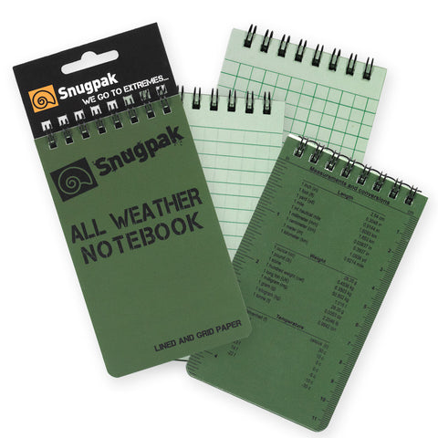 Snugpak - All Weather Notebook - Small - Mad City Outdoor Gear