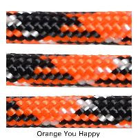 550 Paracord Type III - Orange You Happy - Mad City Outdoor Gear