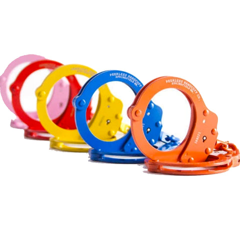 Peerless Colored Chain Handcuffs