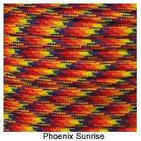 550 Paracord Type III - Phoenix Sunrise - Mad City Outdoor Gear