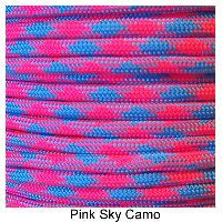 550 Paracord Type III - Pink Sky Camo - Mad City Outdoor Gear