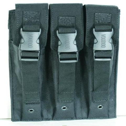 Voodoo Tactical MP5 Mag Pouch Triple - Mad City Outdoor Gear
