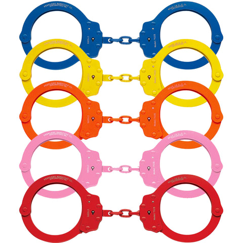 Peerless Handcuffs Model 752C - Colored Oversize Handcuffs