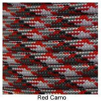 550 Paracord Type III - Red Camo - Mad City Outdoor Gear