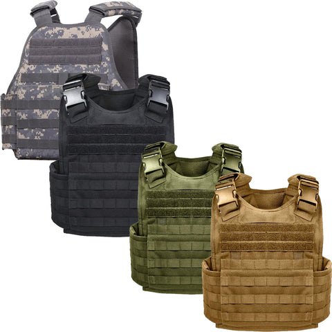 Rothco MOLLE Plate Carrier Vest – Mad City Outdoor Gear 77d47886e89