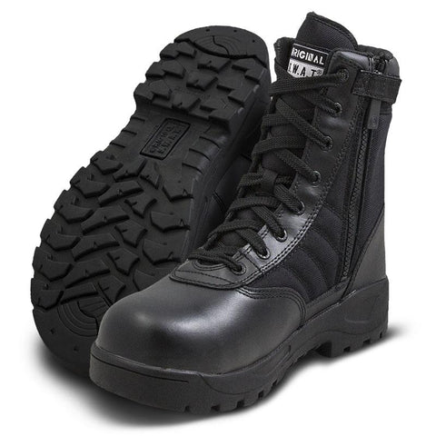 Original SWAT Classic 9 Side Zip Safety Plus Boots