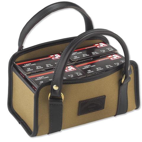 Galco Canvas & Leather Four Box Shell Carrier