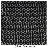550 Paracord Type III - Silver Diamonds - Mad City Outdoor Gear
