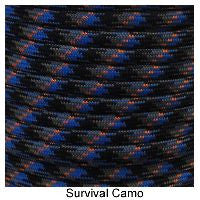 550 Paracord Type III - Survival Camo - Mad City Outdoor Gear
