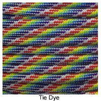 550 Paracord Type III - Tie Dye - Mad City Outdoor Gear
