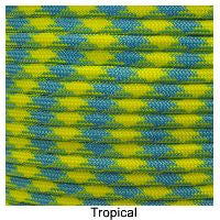 550 Paracord Type III - Tropical - Mad City Outdoor Gear
