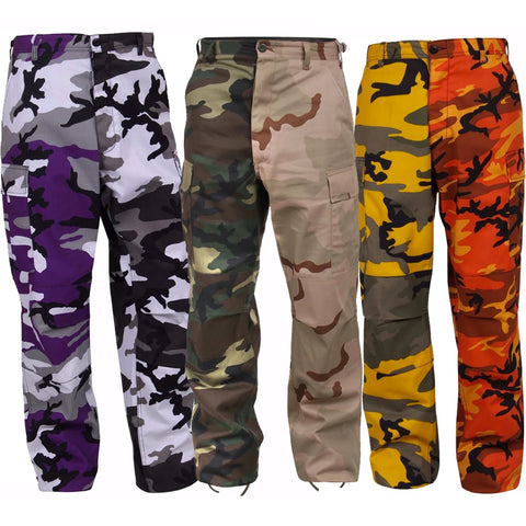 Rothco Color Two-Tone Camouflage BDU Pants