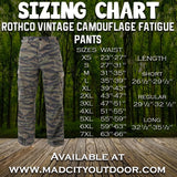 Rothco Vintage Camouflage Fatigue Pants
