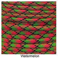 550 Paracord Type III - Watermelon - Mad City Outdoor Gear