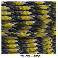 550 Paracord Type III - Yellow Camo - Mad City Outdoor Gear