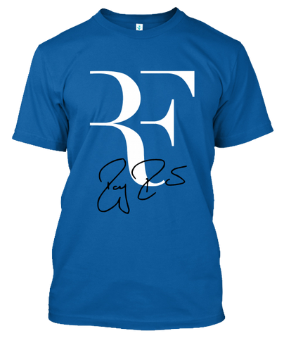 Roger Federed RF Signed Unisex T-Shirt
