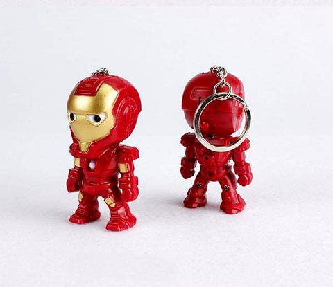 Classic Iron Man Pendant LED Keychain Keychain Buy top quality Classic Iron Man Pendant LED Keychain Keychain online in India at low price. get free shipping all across India Only at  Dot Aero