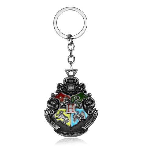 Harry Potter Hogwarts Badge Keychain