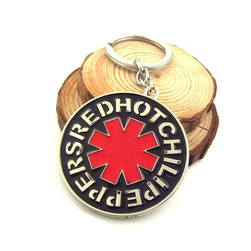 Red Hot Chili Peppers RHCP Logo Metal Keychain Keychain Buy top quality Red Hot Chili Peppers RHCP Logo Metal Keychain Keychain online in India at low price. get free shipping all across India Only at  Dot Aero