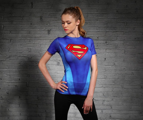 Superman Women Compression Shirt Compression Shirt Buy top quality Superman Women Compression Shirt Compression Shirt online in India at low price. get free shipping all across India Only at  Dot Aero