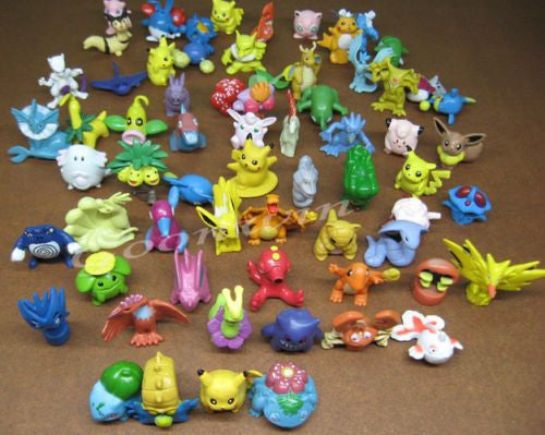 The Ultimate 72pcs Pokemon (Go) Mini figures Collection