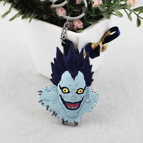 Death Note Anime Ryuuku PVC Keychain Keychain Buy top quality Death Note Anime Ryuuku PVC Keychain Keychain online in India at low price. get free shipping all across India Only at  Dot Aero
