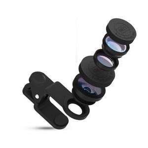 Universal 3 in 1 Mobile Phone Lenses Mount