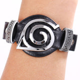 Naruto Logo Black Leather Bracelets Bracelet Buy top quality Naruto Logo Black Leather Bracelets Bracelet online in India at low price. get free shipping all across India Only at  Dot Aero