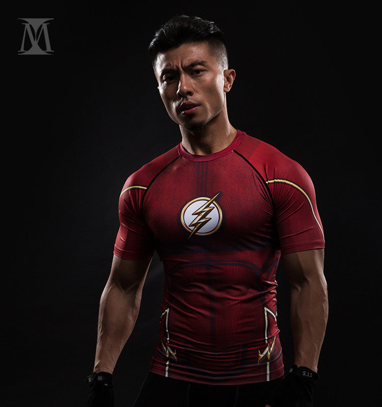 The Flash Unisex Compression Shirt