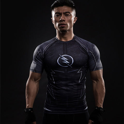 Zoom Superhero Unisex Compression Shirt