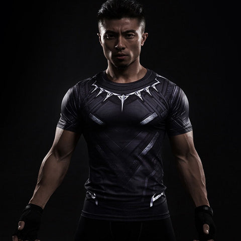 Black Panther Superhero Unisex Compression Shirt Compression Shirt Buy top quality Black Panther Superhero Unisex Compression Shirt Compression Shirt online in India at low price. get free shipping all across India Only at  Dot Aero