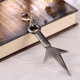 Naruto Weapons Metal Keychain
