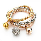 Gold Filled Charm Bracelets Set (9 Variants) Bracelet Buy top quality Gold Filled Charm Bracelets Set (9 Variants) Bracelet online in India at low price. get free shipping all across India Only at  Dot Aero
