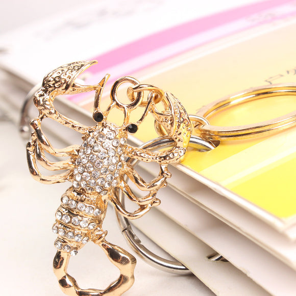 Scorpion Pendant Crystal Charm Keychain Keychain Buy top quality Scorpion Pendant Crystal Charm Keychain Keychain online in India at low price. get free shipping all across India Only at  Dot Aero