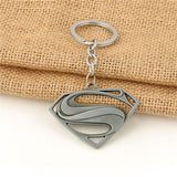 Superman Logo Keychain