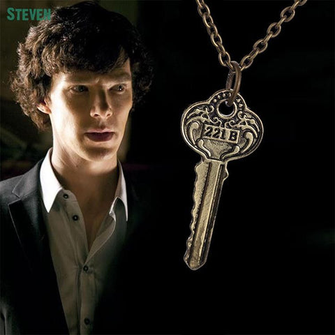 Sherlock 221B Key Necklace Necklace Buy top quality Sherlock 221B Key Necklace Necklace online in India at low price. get free shipping all across India Only at  Dot Aero