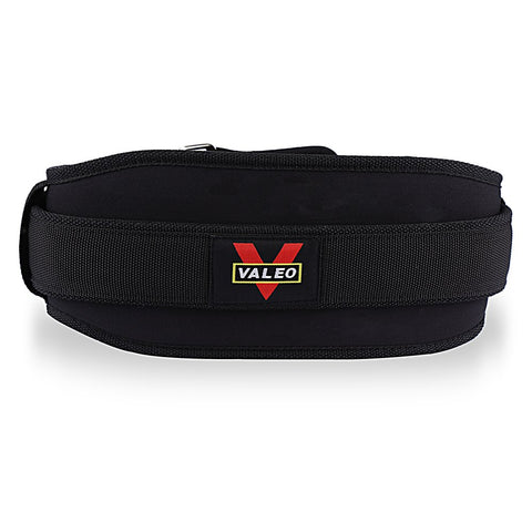VALEO Nylon Weight Lifting Squat Fitness Lower Back Support Belt