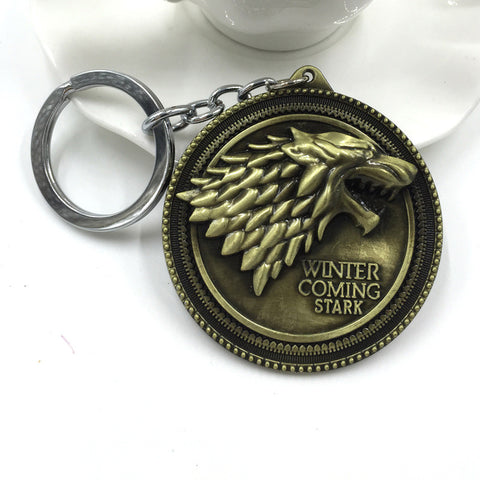 House Stark Sigil Metal Keychain Keychain Buy top quality House Stark Sigil Metal Keychain Keychain online in India at low price. get free shipping all across India Only at  Dot Aero