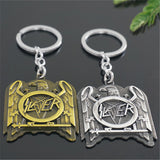 SLAYER Logo Metal Keychains